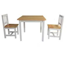 Cubby Table and 2 Chairs Set