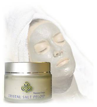 Himalayan Crystal Salt Peloid mud mask