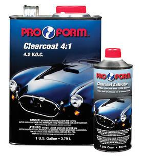 Pro Form 4:1 Clearcoat  4.2 V.O.C 4.7L Kit
