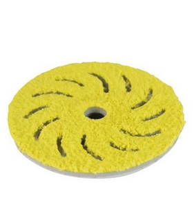 RUPES BigFoot 150/150mm Microfibre Finishing Pads Medium Pack of 2
