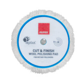 RUPES BigFoot Rotary 180mm Wool Polishing Pad - Cut and Finish