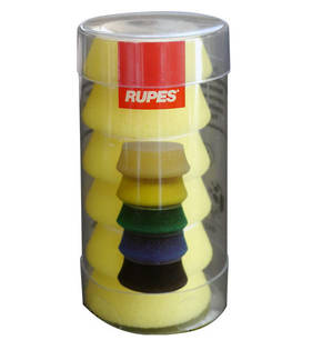 RUPES BigFoot 30/40mm Polishing Foams Fine Pack of 6