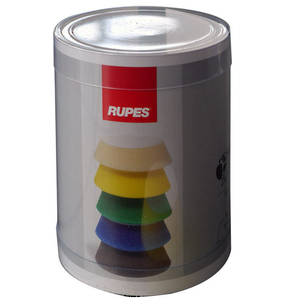 RUPES BigFoot 50/70mm Polishing Foams Fine Pack of 4
