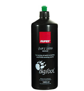 RUPES BigFoot Gel Compound Quarz Gloss Medium 1 Litre