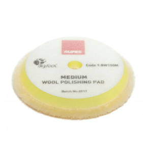 RUPES BigFoot 135/145mm Wool Polishing Pads Medium Pack of 2