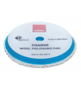 RUPES BigFoot 150/170mm Wool Polishing Pads Coarse Pack of 2