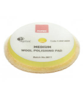 RUPES BigFoot 150/170mm Wool Polishing Pads Medium Pack of 2