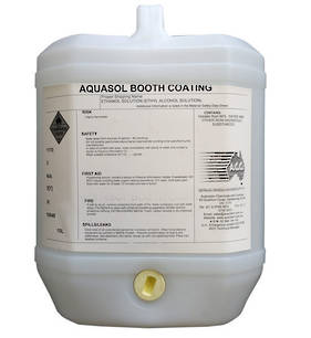 Aquasol Booth Coating 10L