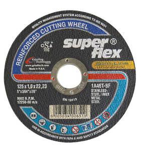 Super Flex 125mm  x 1.0 x 22 Stainless Steel Inox Cut off Wheel