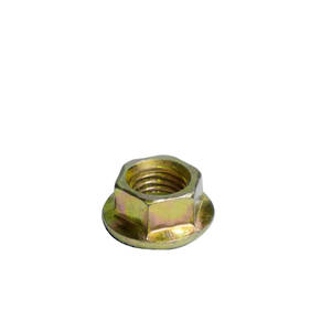 Carklips M10  Nut, Gold 14mm