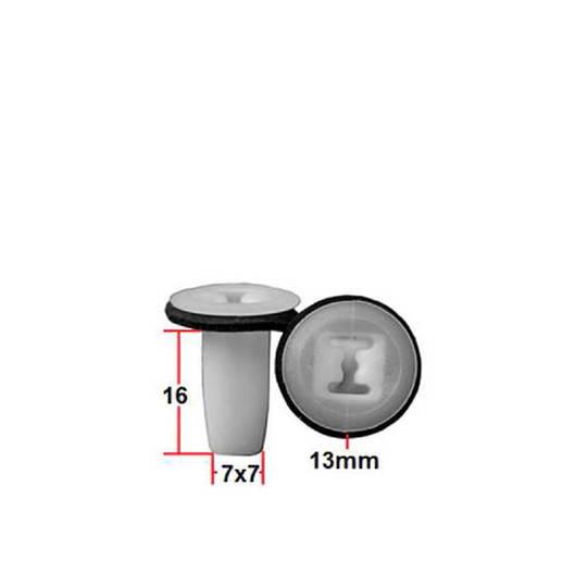 Carklips Small Grommet, Universal