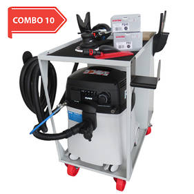 RUPES Electro-Pneumatic Sander Vacuum Trolley Deal RUS145EPL COMBO 10