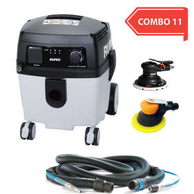 30L Professional Vacuum Cleaner Pneumatic Sander Combo RUS130EPL COMBO 11