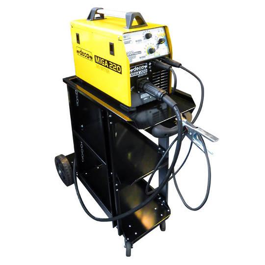 Deca Miga 220 Inverter Single Phase Mig Welder 200 Amp
