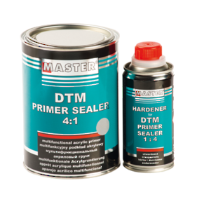 Troton Master 2K Direct to Metal Primer Sealer  4:1 Gray 0,8L and Hardener 0,2L