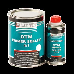 Troton Master 2K Direct to Metal Primer Sealer  4:1 White 0,8L and Hardener 0,2L