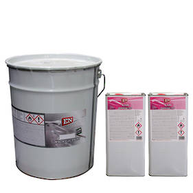 EN 2K Acrylic Paint 30 Litre Kit Black