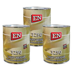 EN Chemicals 3250 Lightweight Polyester Filler 3L Box of 3