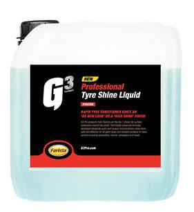 Farecla G3 Professional Tyre Shine Liquid 3.78 Litre