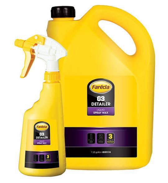 Farecla G3 Detailer Liquid Spray Wax with Spray Bottle 3.78 Litre