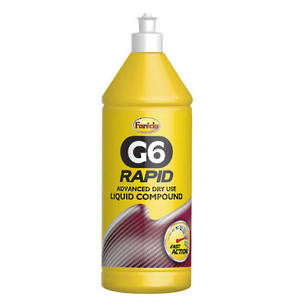 Farecla G6 Rapid Advanced Dry Use Liquid Compound 1 Litre