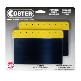 GL Coster 1102 Metal Body Filler Applicator Set of 2