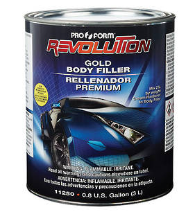 Pro Form Revolution Gold Body Filler 3 Litre