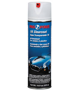 Pro Form 1K Acrylic Clearcoat 423g