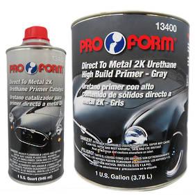 Pro Form Direct to Metal 2K Urethane High Build Primer 4.7L Kit