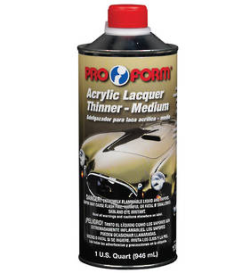 Pro Form Acrylic Lacquer Thinner 946ml