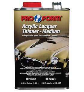 Pro Form Acrylic Lacquer Thinner 3.79L