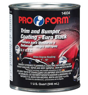Pro Form Trim and Bumper Coating 946ml