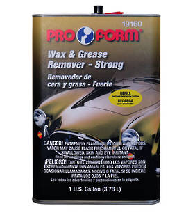 Pro Form Wax and Grease Remover Strong 3.78L