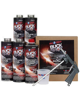 Pro Form Buck Shot Truck Bed Protective Coating Black 4.7L Kit