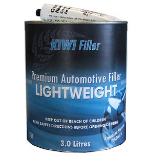 K1W1 Lightweight Premium Automotive Filler 3L