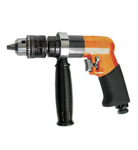 "Pneutrend Pneumatic 1/2"" Heavy Duty Reversible Air Drill"