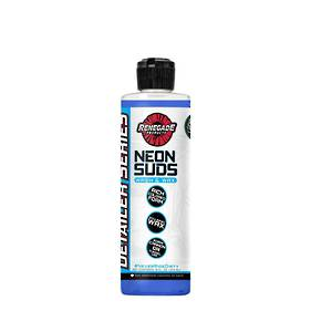 Renegade Neon Suds Colored Wash & Wax 473ml - Blue