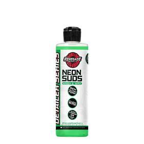 Renegade Neon Suds Colored Wash & Wax 473ml - Green