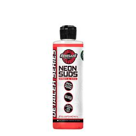 Renegade Neon Suds Colored Wash & Wax 473ml - Red