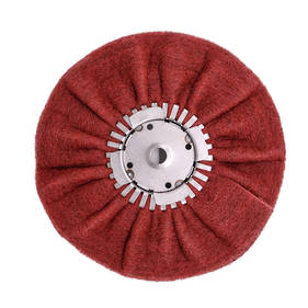 "Renegade 9"" Satin Airway Buffing Wheel for Angle Grinder"