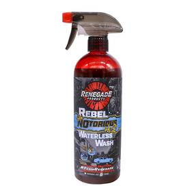 Renegade Rebel NOtorious H2O Waterless Wash 24oz