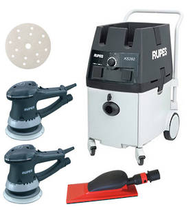 RUPES Powerful Twin Operator Dustless Sander Vacuum Combo RUKS260E