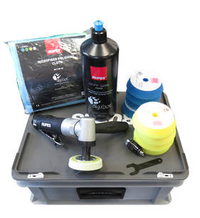 RUPES Pneumatic Headlight Polishing Kit