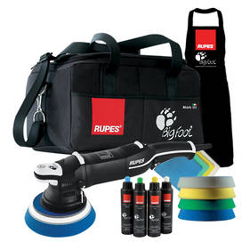 RUPES LHR21 BigFoot Mark III Electric Random Orbital Polisher Deluxe Kit