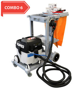 RUPES Smart Repair Electro-Pneumatic Dust Extraction Combo RUS130EPL COMBO 6