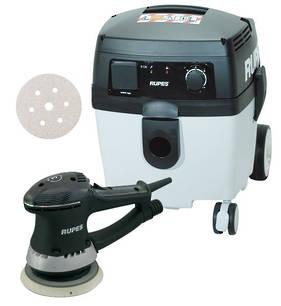 RUPES Compact Dustless Sander Vacuum Starter Combo RUS130EL