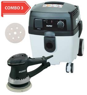 RUPES Compact Dustless Sander Vacuum Starter Combo RUS130EL COMBO 3