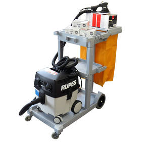 RUPES Smart Repair 'Skorpio E' Compact Dustless Sanding System Combo RUS130EL