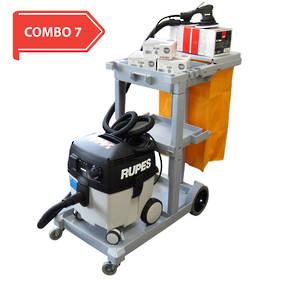 RUPES Smart Repair 'Skorpio E' Compact Dustless Sanding System Combo RUS130EL COMBO 7