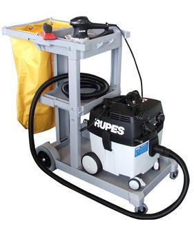 RUPES Compact Dustless Sander Vacuum Trolley Combo RUS130EL
